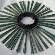 Щеточный беспроставочный диск 120 х 550 мм фото