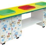 Мебель для детских садов, яслей, Стол для игр с водой и песком Русалочка-1 Д-141