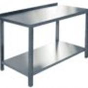 Стол производственный пристенный фото