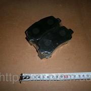 Колодки тормозные передние (к-т) FAW-6371