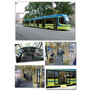 Трамвайный вагон модели 71-631 фото