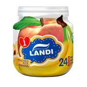 Органическое детское питание LANDI ПЕРСИК-РИС-БАНАН фото