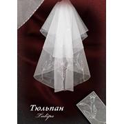 "Свадебная фата ""Тюльпан"" фото"