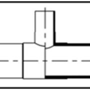Тройник PP (полипропилен) фото