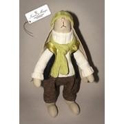 Игрушки-сувениры мягкие Зайчишка Майк фото