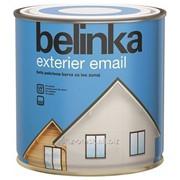 Белая укрывная краска Belinka Exterier Email 2,5 л. Белая №101 Артикул 31381 фото