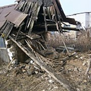 Демонтаж строений фото