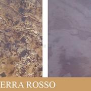 Каменный шпон на просвет (Translucent) Terra Rosso фото