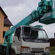 Аренда автовышки Isuzu АГП-15 15 метров фото