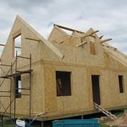 Строительство домов из СИП панелей фото