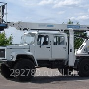 Автовышка АГП-20Т на шасст ГАЗ-33081 пятиместная кабина