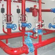 Установка систем водяного пожаротушения фото