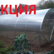 Теплицы(оцинокванные) из поликарбонатных листов(уф защита) 3х6 м. 20х20 20х40 25х25. фото