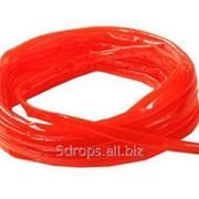 Термостойкий пищевой ПВХ-шланг диаметром 10 мм (красный) фото