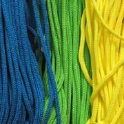 Шнур для изготовления шнурков для бейджей, для изготовления ручек к бумажным пакетам диаметром от 3 до 6 мм фото