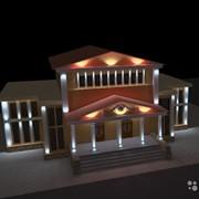Архитектурное освещение фасадов, зданий, коттеджей, освещение дорог и мостов. фото