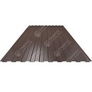Профнастил С-8 0,5x1185x1500 Полиэстер RAL 8017 (Шоколадно-коричневый) двухсторонний фото