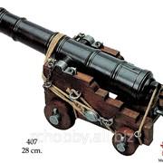 Модель Британская корабельная пушка фото