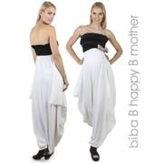 Элегантное вечернее платье с открытым верхом - до и после родов фото