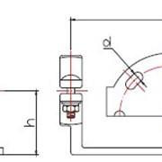 Зажим двойной опорный для присоединения к шине (типа2ОПЗТ) фото