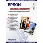Бумага epson Premium Semigloss Photo Paper A3 фото