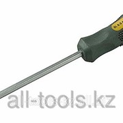 Отвертка Stayer GO-THROUGH Max-Grip , Cr-V, ударная, SL 5,5x75мм Код: 25823-05-075 G фото