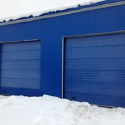 Промышленные секционные ворота DoorHan 4000x4500 фото