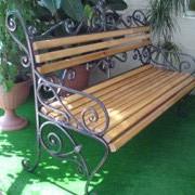 Скамейка садовая фото