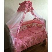 Комплект детского постельного белья к-06 МГ Комплект в кровать (7 предметов) фото