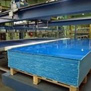 Лист полимерный синий фото