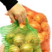 Сетка для упаковки овощей фото