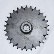 Звезда 30 зубов, шаг 15,875 (ИЖ) с грязевыводящими засечками, посадка 20 мм, шпонка 6 мм фото