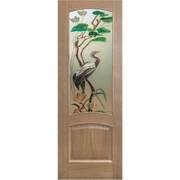 Дверь № 16 из серии Лесные мотивы фото