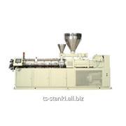Линия экструзионная по производству ПВХ профилей с экструдером LMCV 55/22 фото