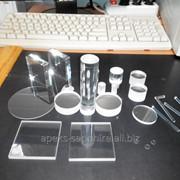 Изделия и заготовки из кристалла сапфира фото