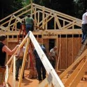 Строительство каркасных деревянных домов по энергосберегающим технологиям фото