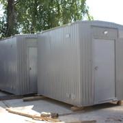 Блок-контейнер (аппаратная для станции сотовой связи) фото