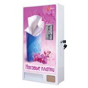 Автомат по продаже одноразовых носовых платков фото
