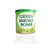 Smoke bomb зеленый фото