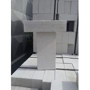 Кирпич силикатный белый фото