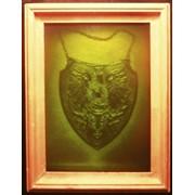 Медаль с иконой Остробрамской Божьей Матери фото