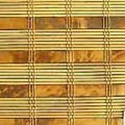 Жалюзи из натурального бамбука фото