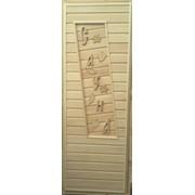 Дверь для бани с надписью фото