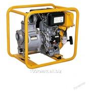 Переносная дизельная мотопомпа Robin Subaru PTD406 для загрязненных вод до 78 м3/час фото