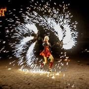 Огненное фаер шоу - Devil фото