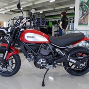 Мотоцикл Ducati Scrambler Icon Red 2015 фото