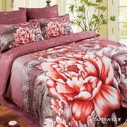 Постельное белье сатиновое Чайная роза фото