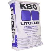 Клей плиточный Litoflex K80 фото