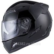 THH Мотошлем TS-80 SOLID черный фото