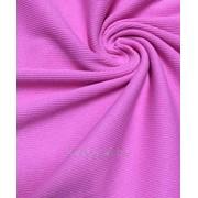 Кашкорсе с лайкрой розовый фото